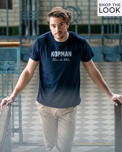 Stijlvol kopman Vive le vélo
